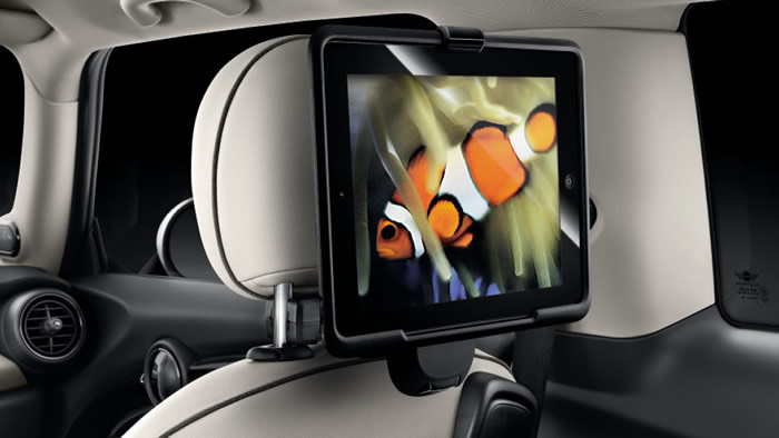MINI F56 iPadホルダー