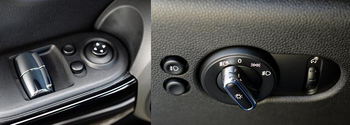 MINI F56 スイッチ関連