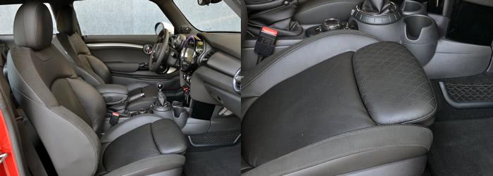 MINI F56 スポーツシート