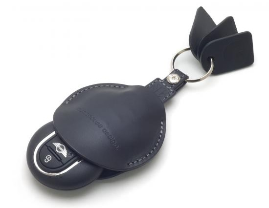 F56用 buzz mini キーホルダー UFOキーカバーセット ユニオンジャック・ブラック