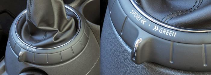 MINI F56 MINIドライビングモード