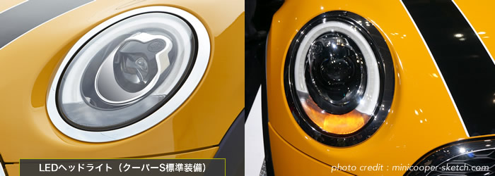 MINI F56 オプション LEDヘッドライト