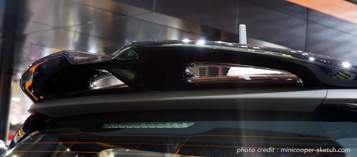 MINI F56 オプション リアスポイラー