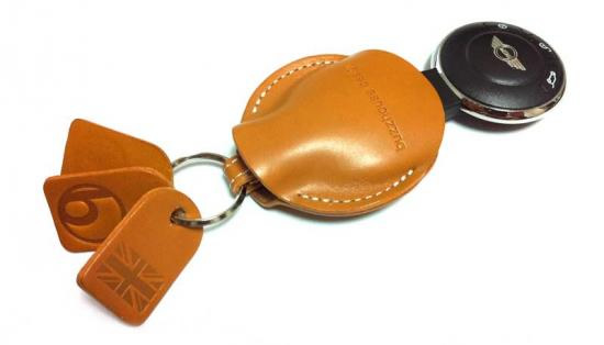 R56系R60 buzz mini キーホルダー UFOキーカバーセット ユニオンジャック・キャメル