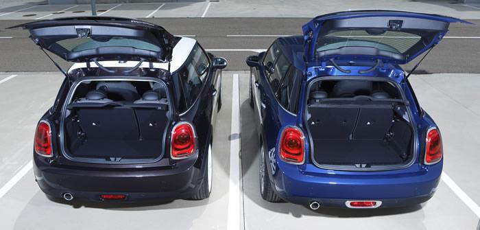 MINI F56とF55の違い ラゲッジルーム