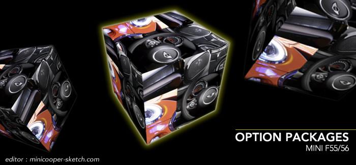 MINI F56 オプション パッケージ