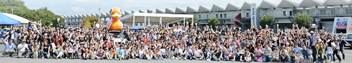 MINIのイベント ミニフェス 2013 集合写真