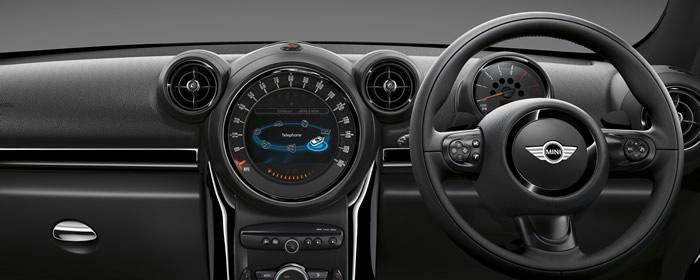 MINIクロスオーバー クーパーSD ブラックナイト 内装
