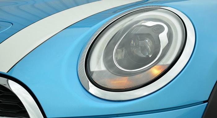 ミニ5ドア F55 ミニクーパーS エレクトリックブルー アダプティブヘッドランプ