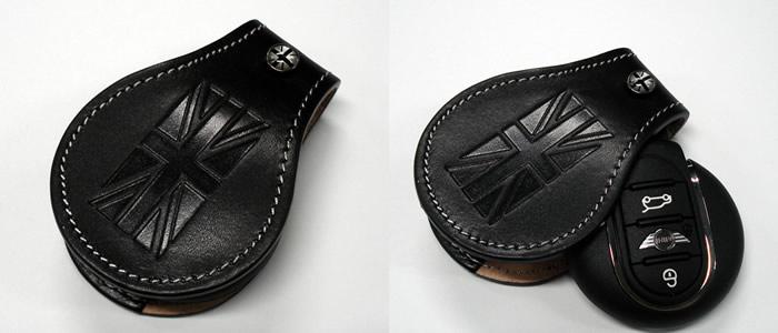 ミニ  CLOS レザーキーケース タイプ3 ブラック