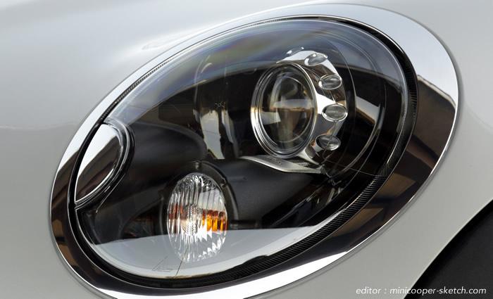MINI R56 純正ブラックリフレクターヘッドライト