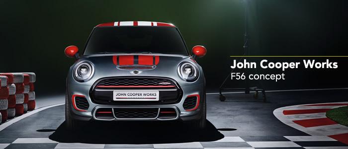 2014年 JCW  F56 コンセプトモデル