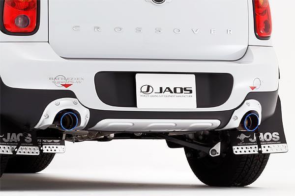 ミニ クロスオーバー R60 BATTLEZ×EX typeZS-W Ti スポーツマフラー