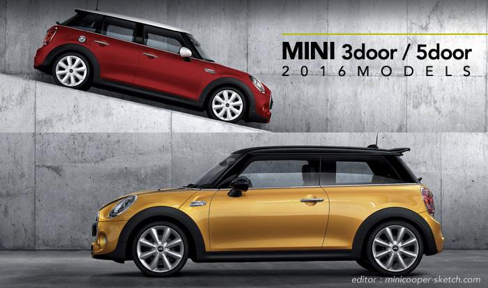 MINI F56 F55 2016モデルの変更内容
