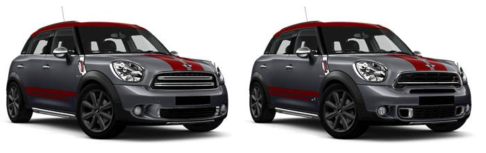 ミニクロスオーバー R60 特別仕様車 パークレーン ミニクーパーとミニクーパーS