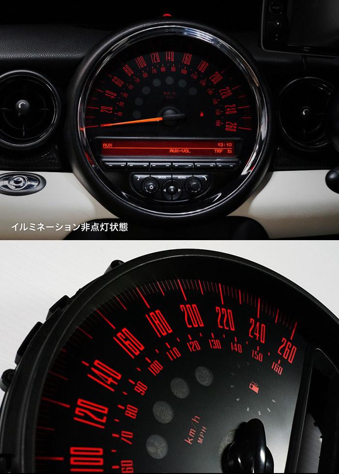 MINIMAX カスタムゲージ model-R Limited イルミネーション非点灯状態