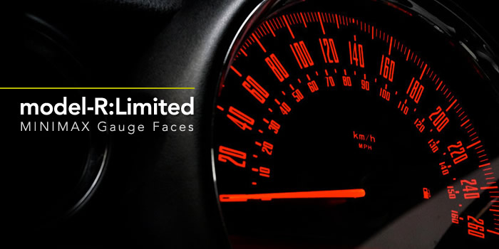 MINIMAX カスタムゲージ model-R Limited 限定モデル