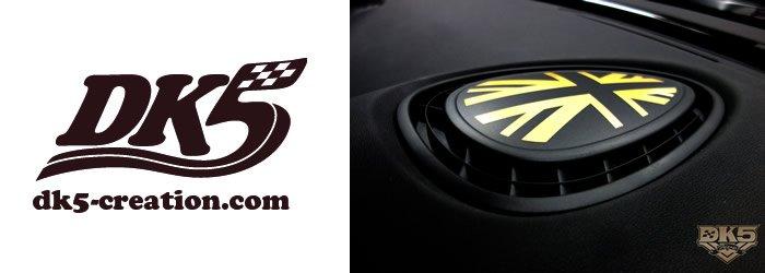DK5 BMW MINI F型系 ユニオンジャックダッシュボードステッカー