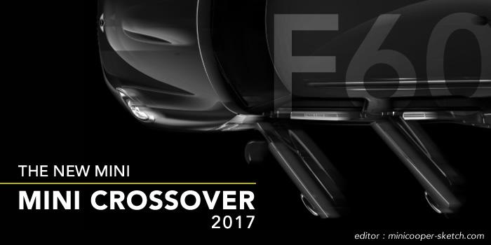 新型ミニクロスオーバー  F60 2017年