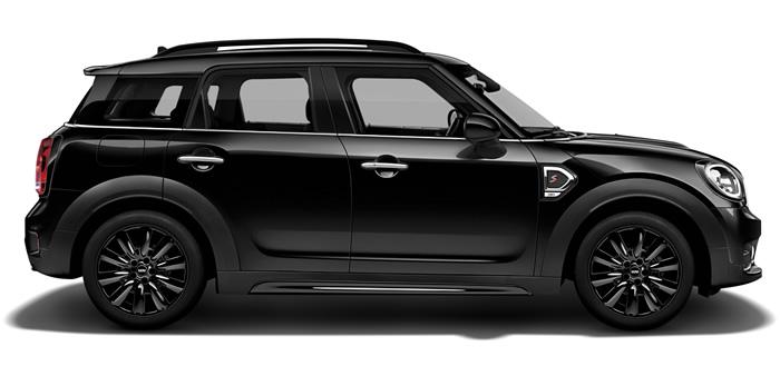 MINI クロスオーバー F60 クーパーS ブラックヒース サイドビュー
