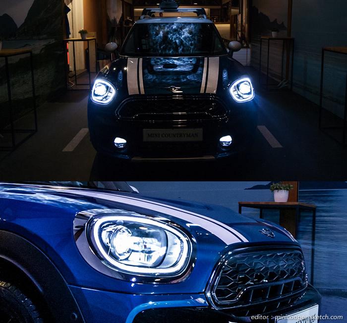 ミニクロスオーバー F60 LEDヘッドライト