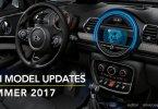 MINI F56 F55 F57 F54 F60 2017年7月の変更