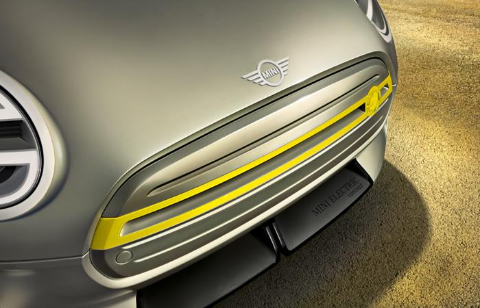 電気自動車 MINI エレクトリック コンセプト 2017年 フロントグリル
