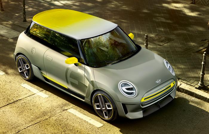 電気自動車 MINI エレクトリック コンセプト 2017年 ルーフ