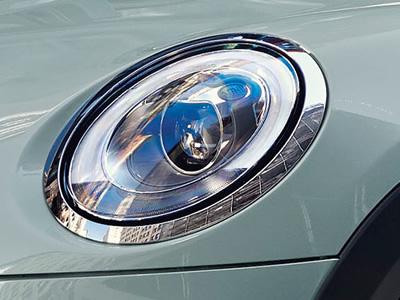 ミニ アイスブルー 限定車 LEDヘッドライト