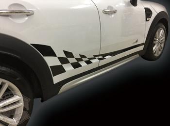 クロスオーバー F60 サイドチェッカーストライプ
