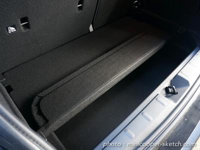 ミニ5ドア F55 ストレージコンパートメントパッケージ