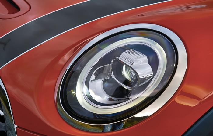 ミニ 3ドア F56 マイナーチェンジ 2018年 LEDヘッドライト