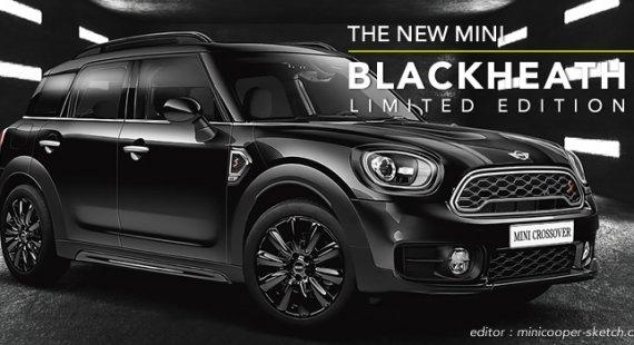 ミニクロスオーバー F60 限定車 ブラックヒース