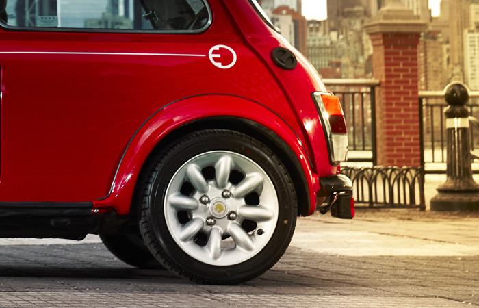クラシックミニ EV 電気自動車 ホイール