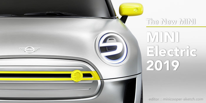 MINI EV(電気自動車) コンセプト 2018年