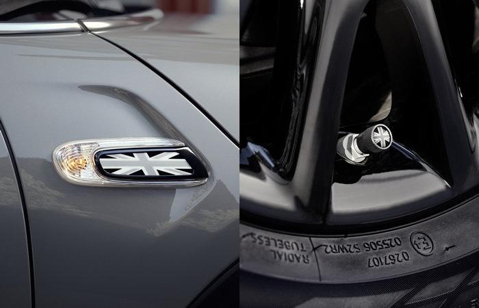F55 F6 ミニクーパーの特別仕様車 ハイドパーク サイドスカットル