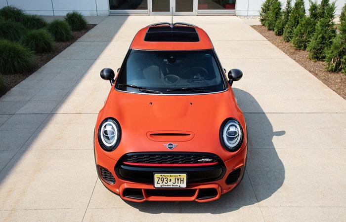 F56 ミニジョンクーパーワークスの特別仕様車 オレンジエディション サンルーフ