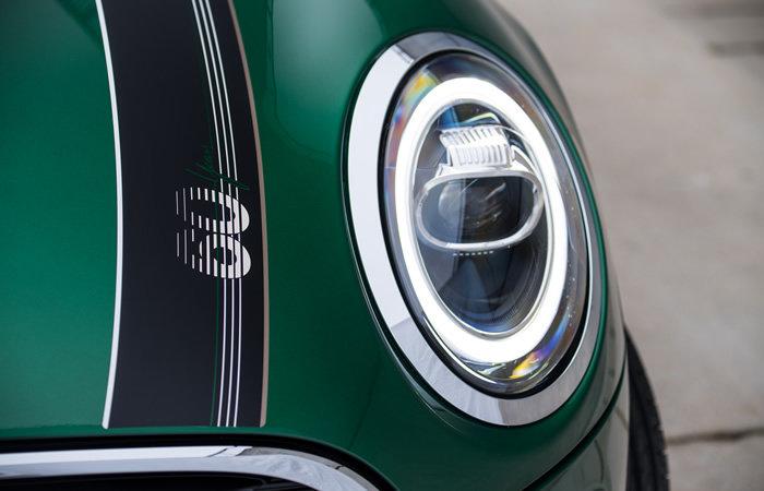 ミニ3ドア ミニクーパー 60イヤーズエディション LEDヘッドライト