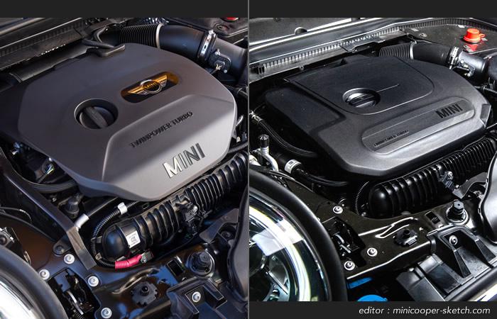 ミニクーパー F55 F56 F57 マイナーチェンジ ガソリンエンジン