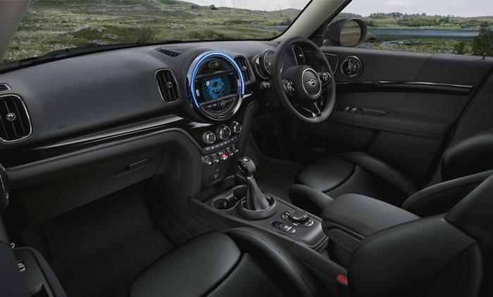 ミニクロスオーバー F60 限定車 ノーフォークエディション 内装