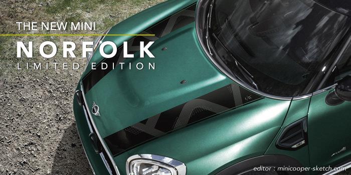 ミニクロスオーバー F60 限定車 ノーフォークエディション