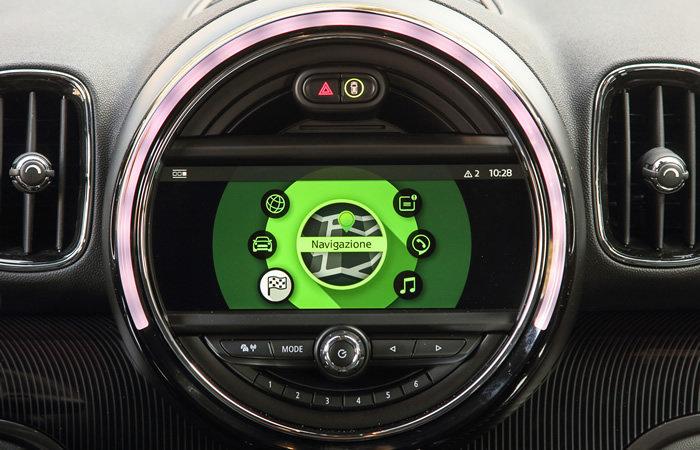 ミニクロスオーバー F60 純正HDDナビゲーションシステム