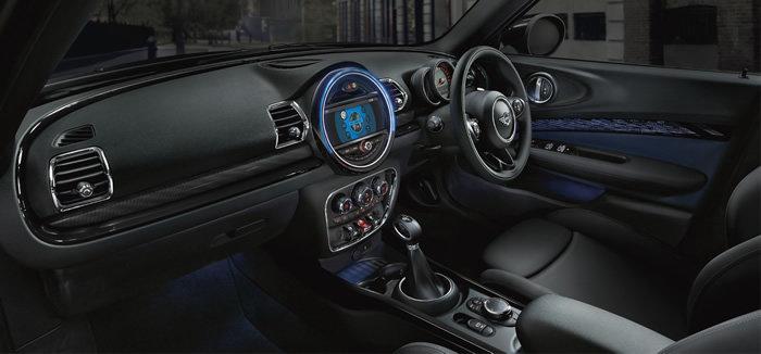 ミニクラブマン F60 クーパーD ブルーノートトーキョーエディション 内装