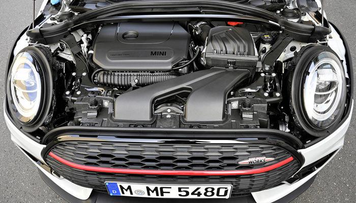 ミニクラブマン F54 ジョンクーパーワークスのエンジン 2019年