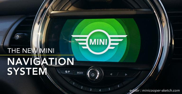 第3世代MINI(F系)ミニクーパーの純正ナビ
