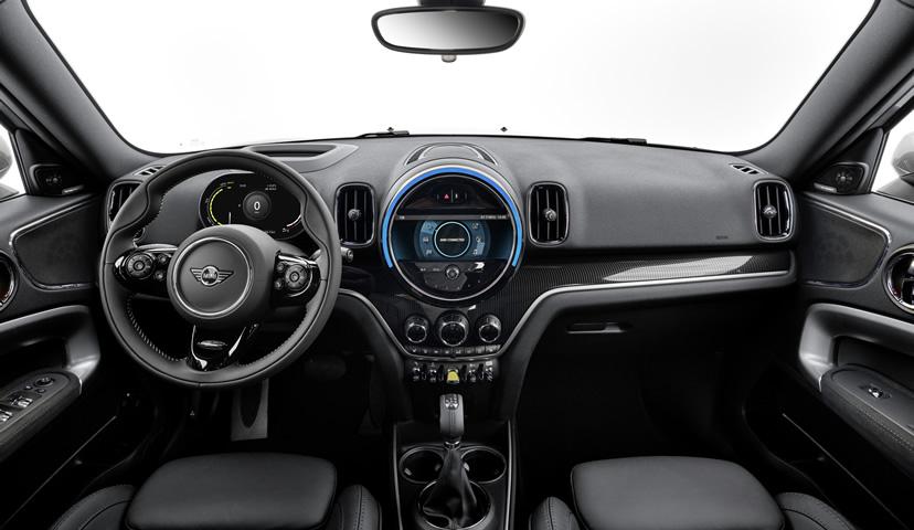 ミニクロスオーバー F60 2020年のマイナーチェンジ 内装