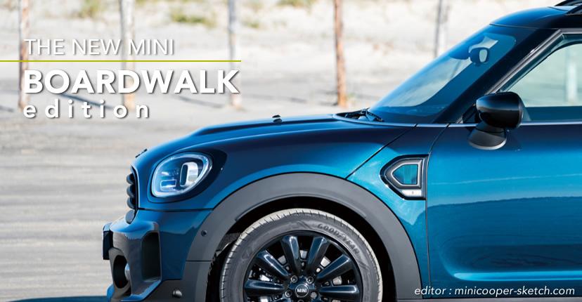 ミニクロスオーバー F60 限定車 ボードウォークエディション