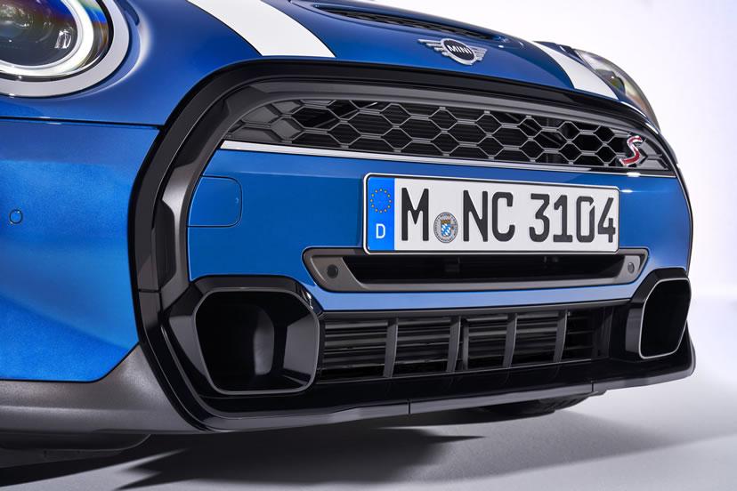 ミニクーパー マイナーチェンジ 2021年 LCI 5ドア クーパーS フロントグリル