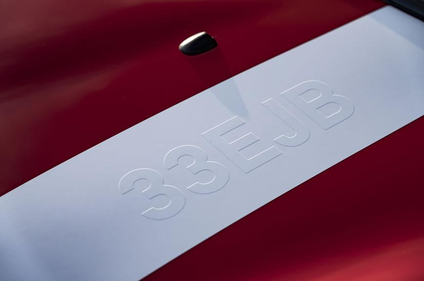 限定車 ミニクーパーS パディホプカークエディション ボンネットストライプ