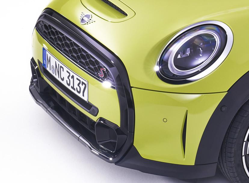 ミニクーパー マイナーチェンジ 2021年 LCI フロントマスク